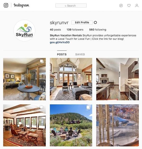 Visit @SkyRunVR for a Visual Teaser of Our Vacation Rentals!